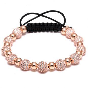 Brooks Rose Gold Zirconia Bracelet