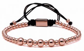 Brooks Women Rose Gold Zircon Bracelet