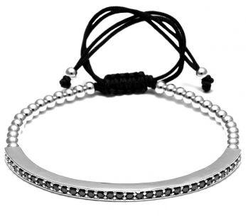 Brooks Zircon Silver Bracelet