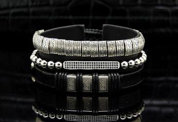Luxury Set 3 Zirconia Men Bracelets