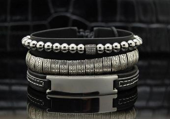 Exquisite Set 3 Men Bracelets