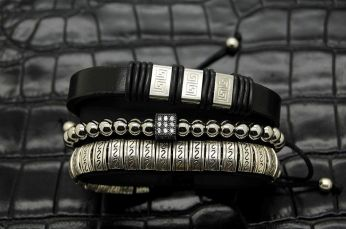 Set 3 Exquisite Men Bracelets