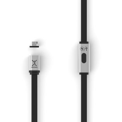 Cablu microUSB magnetic de incarcare si transfer date pt Android