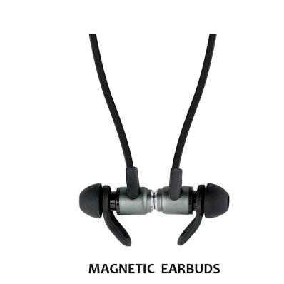 Casti bluetooth premium Jabees Magnet in-ear fara fir