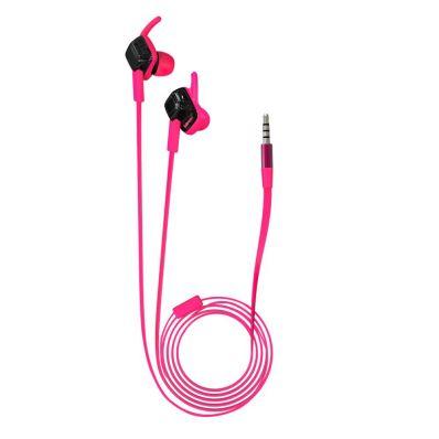Casti audio in-ear cu fir waterproof IPX4 cu microfon WE204M