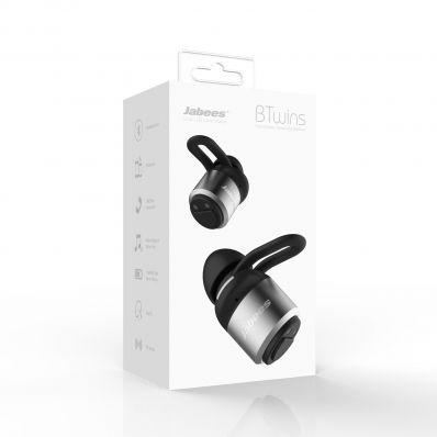 Casti bluetooth sport Btwins in-ear cu True Wireless Stereo sweatproof
