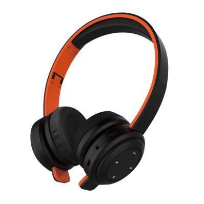 Casti wireless over-the-ear pliabile cu bluetooth 4.1 Orange