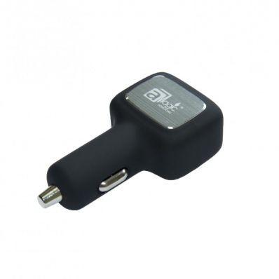 Incarcator auto cu 3 porturi USB si Qualcomm Quick Charge 3.0