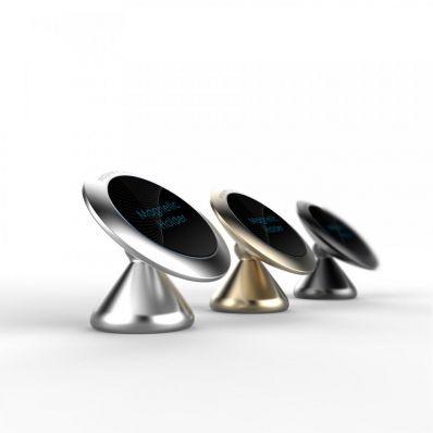 Suport magnetic auto pentru telefon LS-silver