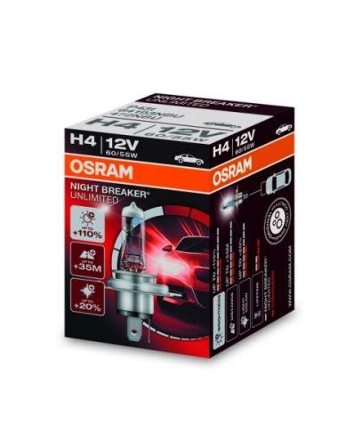 Bec Osram H4 Night Breaker Unlimited + 110%