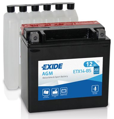 Exide 12V 12Ah EBYTX14-BS
