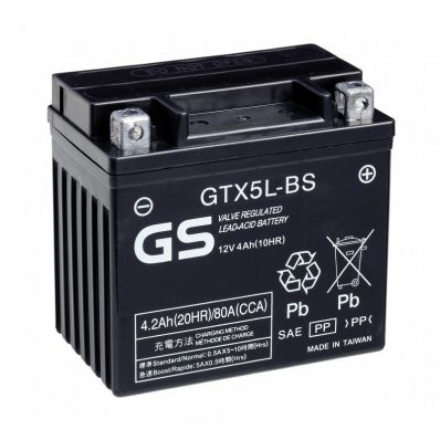 GS 12V 4Ah - GTX5L-BS