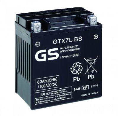 GS 12V 6Ah - GTX7L-BS