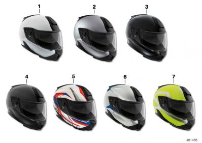 Helmet 7 Carbon Silver