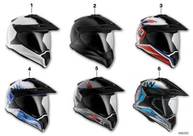 Helmet GS Carbon Light White