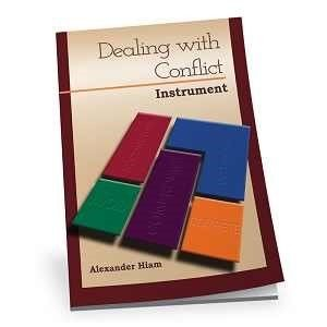 Dealing With Conflict Instrument - Assessment