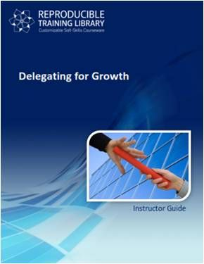 Delegating for growth (engleza & traducere in romana)