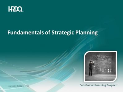 Fundamentals of strategic planning E-Learning