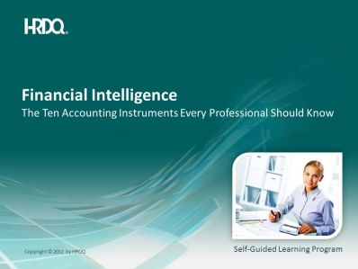 Financial Intelligence E-Learning (engleza & traducere in romana)