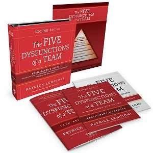 Five Dysfunctions of a Team 2nd Edition- Facilitator Set - engleza & romana