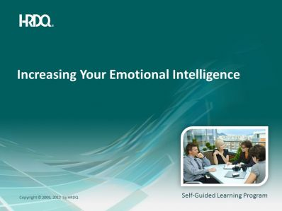 Increasing your emotional intelligence E-Learning