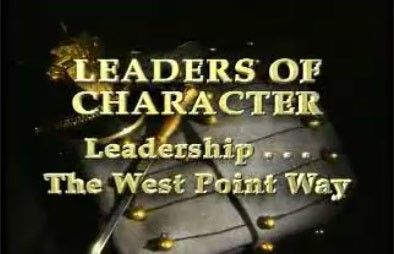 Leaders Of Character: Leadership - The West Point Way DVD