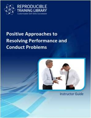 DEMO GRATUIT: Positive approaches to resolving performance and conduct problems
