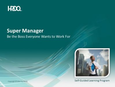 DEMO GRATUIT: Super Manager E-Learning