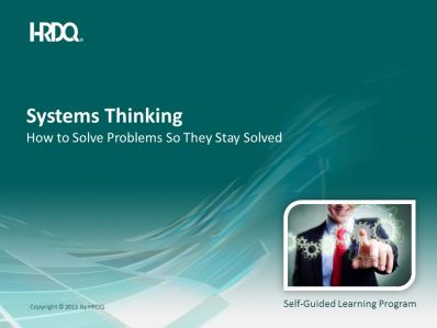Systems Thinking E-Learning