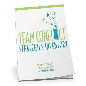 Team Conflict Strategies Inventory - Facilitator Set