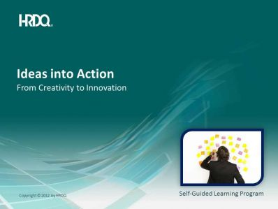 DEMO GRATUIT: Ideas into action E-Learning