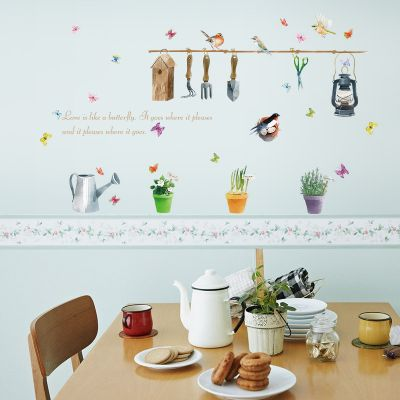Sticker decorativ Garden Decor 50x70cm