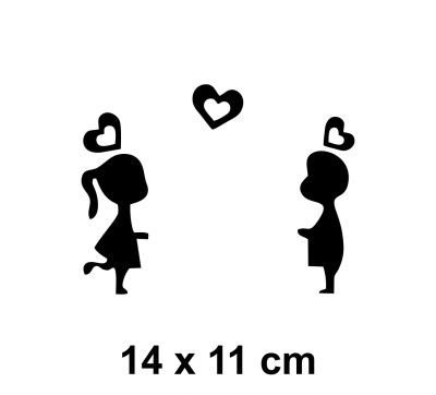 Sticker intrerupator Love