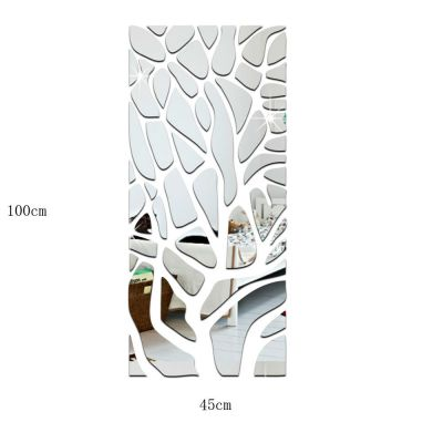 Sticker perete 3D Wall Art Mirror