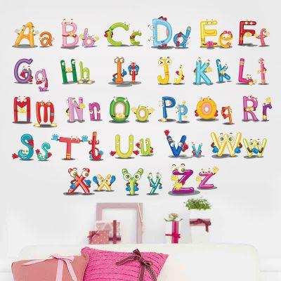 Sticker perete ABC Letters