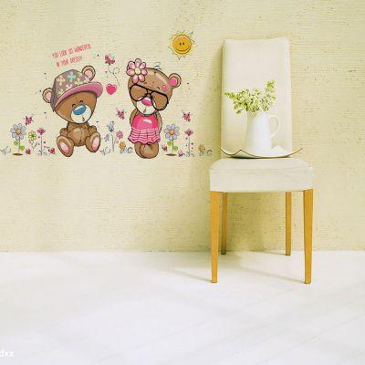 Sticker perete Bear Love