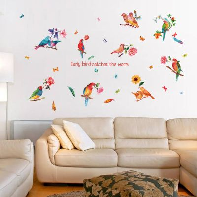 Sticker perete Birds