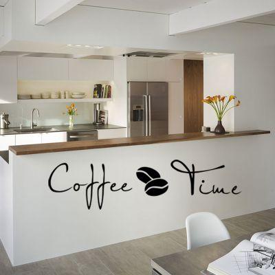 Sticker perete Coffee Time