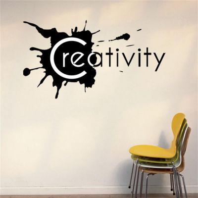 Sticker perete Creativity