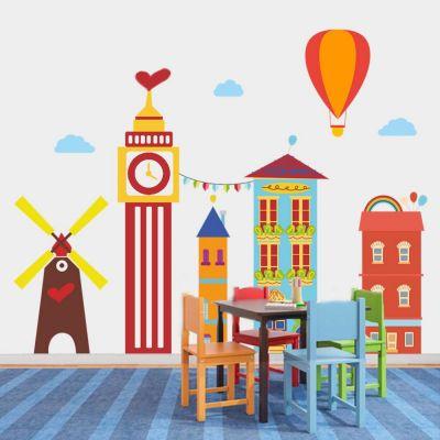 Sticker perete Dream Town