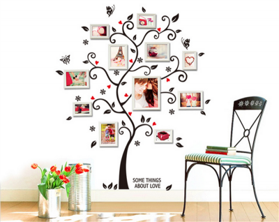 Sticker perete Family Photo Tree