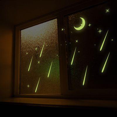 Sticker perete Glow in the Dark Shooting Stars