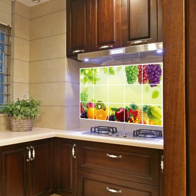 Sticker perete Grapes Kitchen Decor