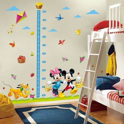 Sticker perete Grow up Mickey & Minnie 120 x 108 cm