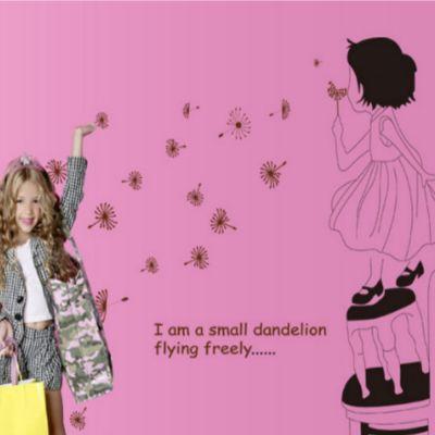 Sticker perete I Am a Small Dandellion