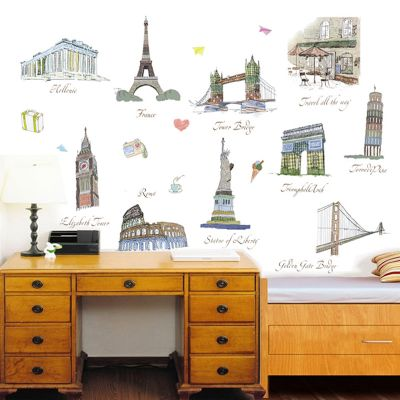 Sticker perete World Traveler