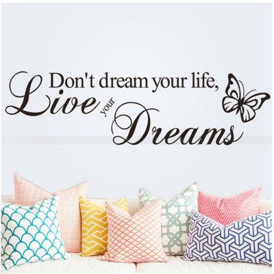 Sticker perete Live Dreams