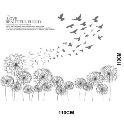 Sticker perete Love Beautiful Flight