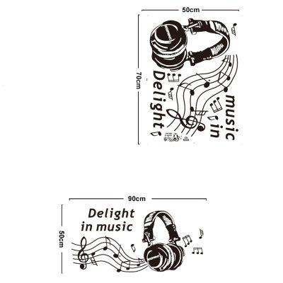 Sticker perete Love music