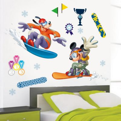 Sticker perete Mickey Sports